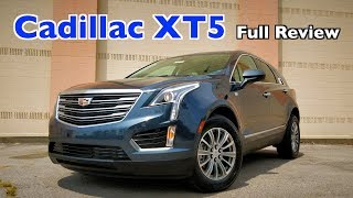 2019 Cadillac XT5: FULL REVIEW + DRIVE | Is Caddy's Bread Winner Better Than RX??