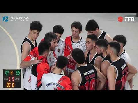 Básquet en vivo: Cinco Saltos vs. Cipolletti