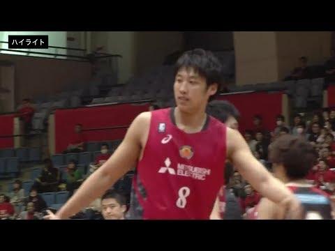 【B1ハイライト】04/07 名古屋D vs 大阪(18-19 B1第33節)