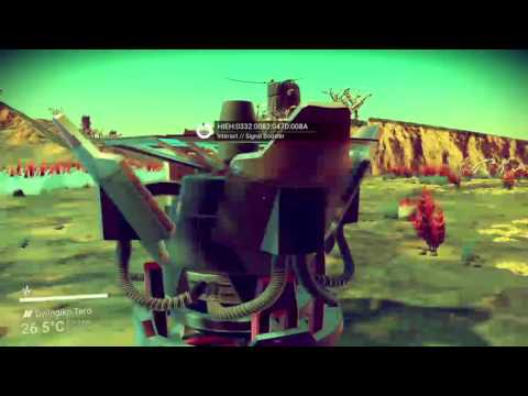 NMS part 25 star ship hunter find a solar sistem with awesome ship