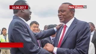 Baixar Kenyans, Ugandans react to Kenya's provisional presidential results