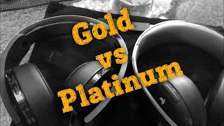 ???? Наушники для PS4 Sony GOLD и PLATINUM - Обзор