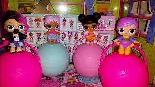 Детский канал Даша-Dasha Куклы L.O.L surprise 1-го сезона  распаковка