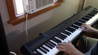 Never Too Late (Elton John) Lion King Disney piano cover by Manny Sousa