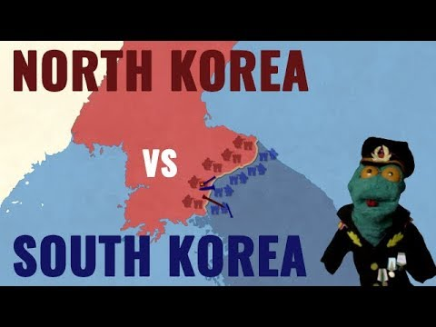 North Korea vs South Korea (2017)