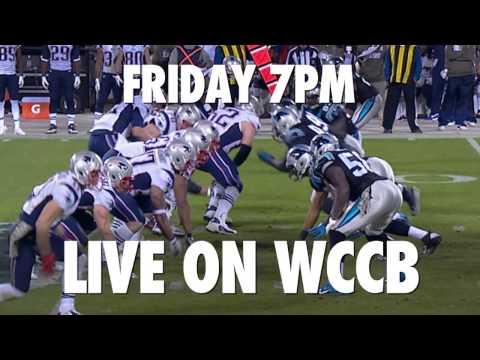 Panthers vs Patriots Friday at 7 on WCCB
