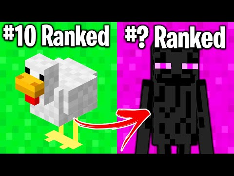 TOP 10 MOBS IN MINECRAFT (#1 will shock you)
