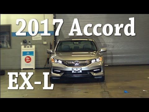 2017 Honda Accord EX-L Review - YouTube