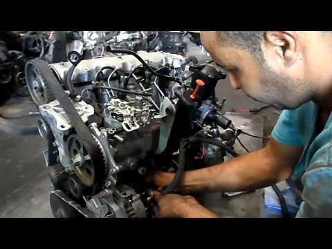 mecanique moktar moteur 205 diesel en marche تشغيل محرك c15 الديزل