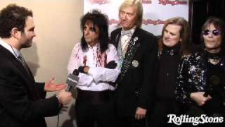 Alice Cooper: Rock And Roll Hall Of Fame 2011