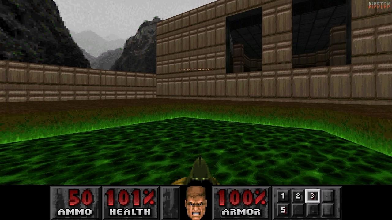 Doom (PSX) Gameplay (Zandronum)
