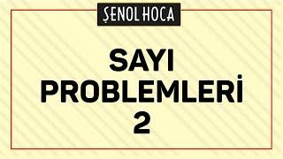 Sayi Problemleri 2 - Sinav Ikizi Şenol Hoca Matematik