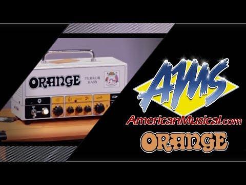 Orange Terror Bass & OBC112 - American Musical Supply