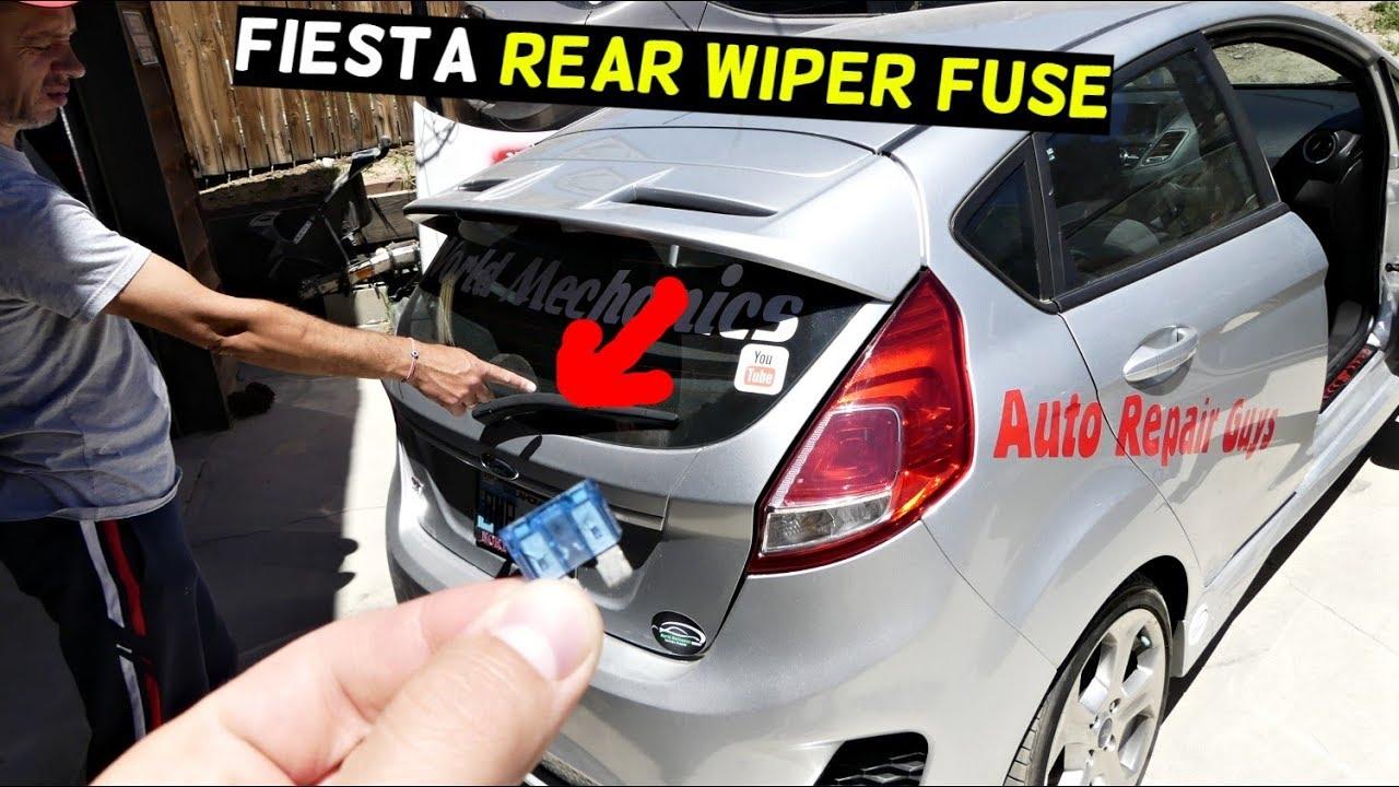 ford ka fuse box windscreen wipers ford fiesta rear wiper fuse location mk7 st youtube  ford fiesta rear wiper fuse location