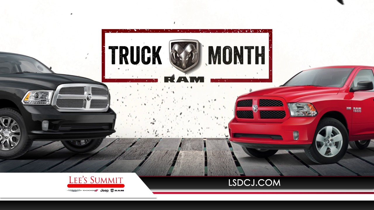 """lee's summit cjdr """"ram truck month 30 tv"""" (03/2017) - youtube"""