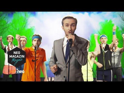 Peter rennt   NEO MAGAZIN ROYALE mit Jan Böhmermann - ZDFneo