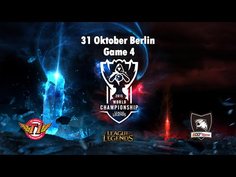 SK Telecom T1 vs. KOO Tigers - Finale, World Championship 2015 #TheMain - Game 4