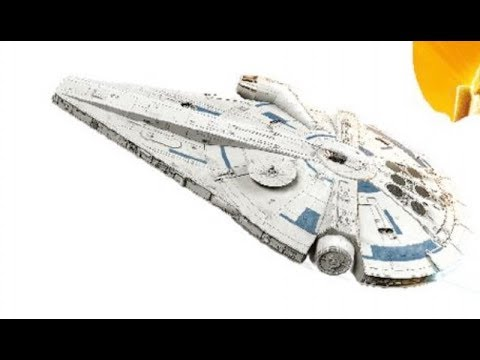 leaked lego millennium falcon toy from solo a star wars story youtube. Black Bedroom Furniture Sets. Home Design Ideas