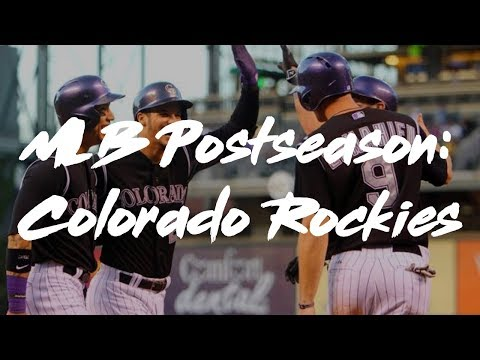 MLB 2017 Postseason Hype || Colorado Rockies