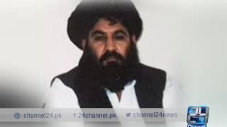 24 Report : JUI F senator hamdullah denies the death of Maulana Akhtar Mansoor's 2017 Video