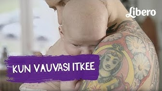 Kun vauvasi itkee - vinkkejä lohduttamiseen