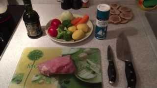 Питание во время беременности. Мой обед