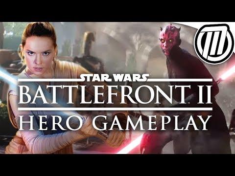 Star Wars Battlefront 2: Rey & Darth Maul...