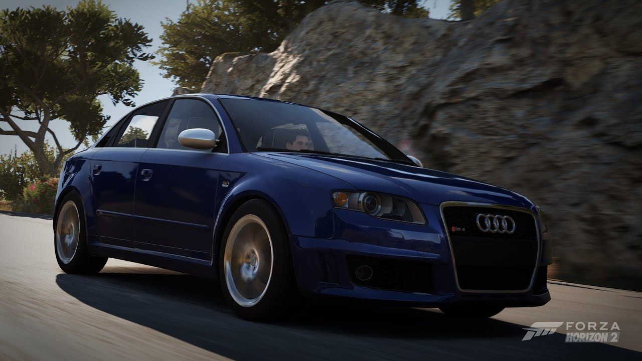 forza horizon 2 2006 audi rs4 b7 sedan gameplay hd youtube. Black Bedroom Furniture Sets. Home Design Ideas
