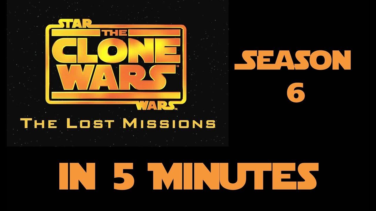 Star Wars The Clone Wars Season 6 in 5 Minutes