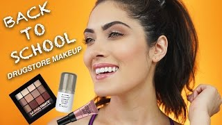 Drugstore + Affordable Back To School Makeup Tutorial | Melissa Alatorre