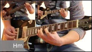 Как играть на гитаре Марионетки - Король и шут  ( видеоурок Guitar riffs) + табы