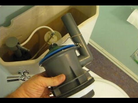 How To Replace An American Standard Champion Flush Valve Assembly