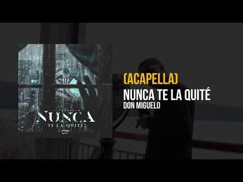 Don Miguelo – Nunca te la quite (Acapella)