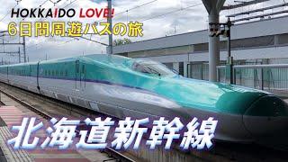 (5)新函館北斗駅で北海道新幹線を見てみよう!【HOKKAIDO LOVE!6日間周遊パスの旅】