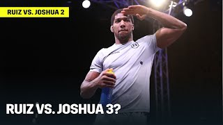 Anthony Joshua Says A Trilogy Will Happen With Andy Ruiz