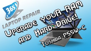 Upgrade the Hard Drive and RAM on the Toshiba P55W-C!