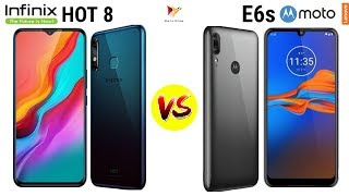 Infinix HOT 8 vs Moto E6s | Who is the Budget Killer ???? | HINDI | Data Dock