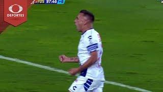 Golazo de 'Chaco' Giménez | Pachuca 3 - 3 Rayados | Copa MX - Semifinal | Televisa Deportes