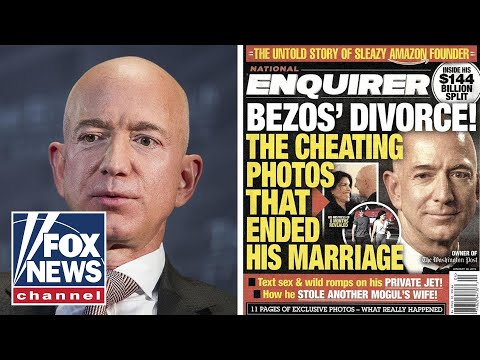 The Five' on Jeff Bezos' public battle for his private life