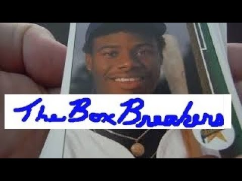 Pulling 2nd Griffey Jr Rookie 1989 Upper Deck Baseball Cards Hobby Box Low Number Series Part 4