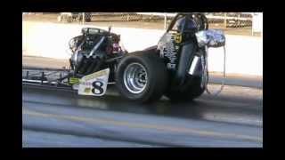 Joe Krupinski Racing TWIGGY II Top Fuel Nostalgia Front Engine Dragster -