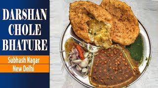 Special Aloo Wale Darshan ke Chole Bhature | Bhooka Saand