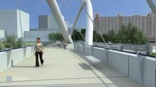 The Belleview Pedestrian Bridge, Dallas, Texas