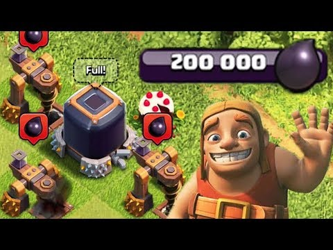 EVERY CLASH OF CLANS PLAYERS DREAM | 200,000 Dark Elixir CoC