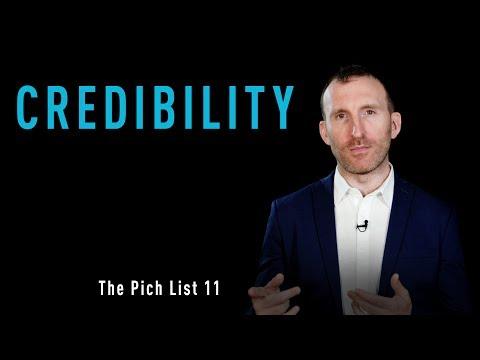 OFI - The Pitch List - No. 11 - Credibility