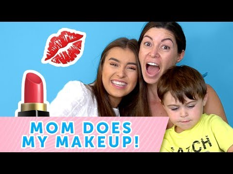 doing my everyday makeup on my mom! ft Jett  KALANI HILLIKER