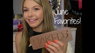 June Favorites Thumbnail