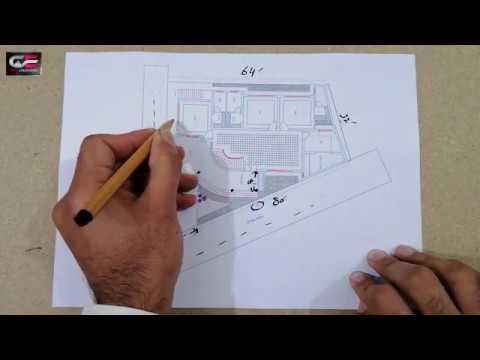 Design Of Irregular Plan House Plan In Irregular Plot Youtube