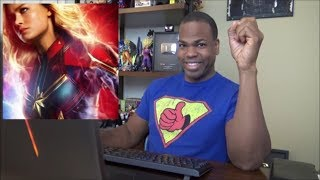 THE FIRST Captain Marvel REACTIONS ARE IN!!!