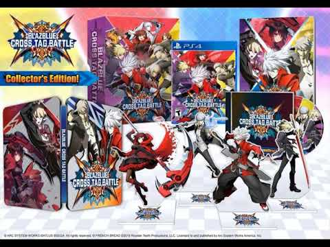 Blazblue Cross Tag Battle Collector's Edition DETAILS REVEALED! Steel Book, Art Book, ETC.!